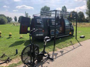 Bootcamper, een sportschool op wielen