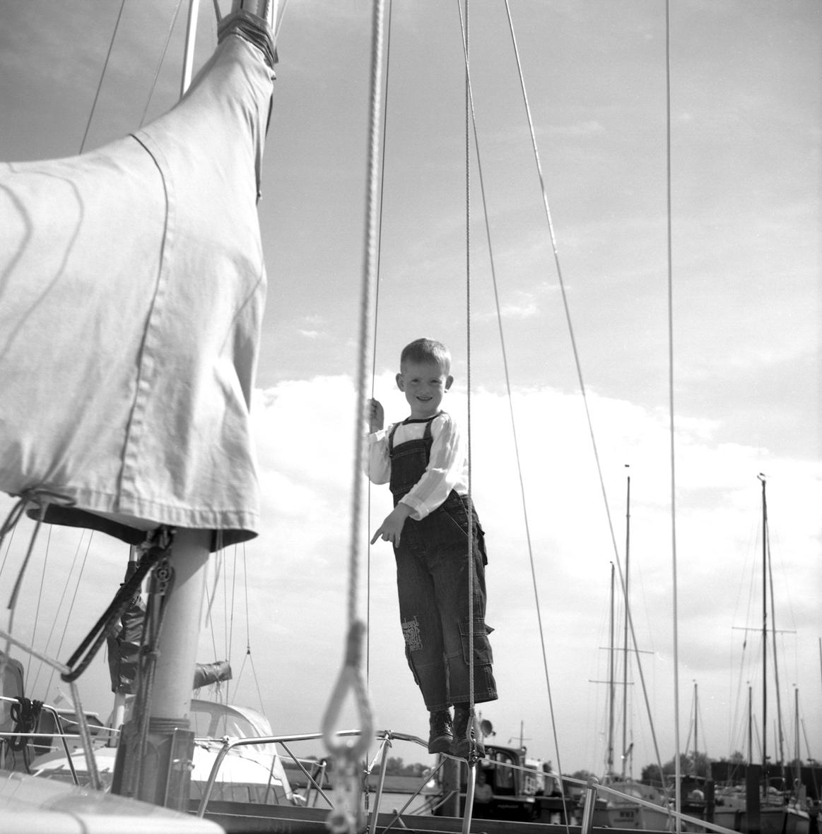 Van boten en een klein jongetje